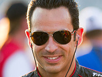 Latin Auto Parts Expo three time Indy 500 Winner Helio Castroneves makes an appearance at the Latin Auto Parts Expo