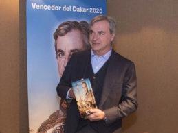 BFGoodrich pays tribute to Carlos Sainz for his Dakar victory