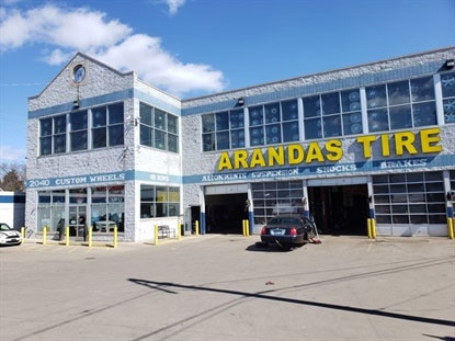 """Reactions to the coronavirus outbreak are already causing """"somewhat of a decline"""" in Arandas Tire's business, says Ray Ostolecki."""