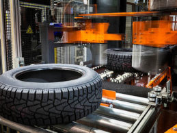 Lockdown stops tyre production in India